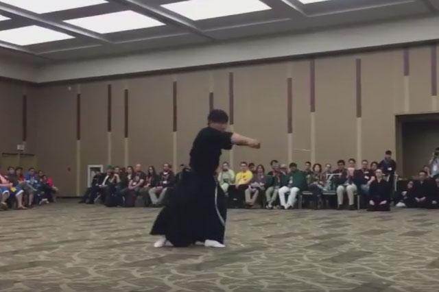 サクラコン公開演武