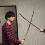 刀は引いて斬るなんて考えてはいけない