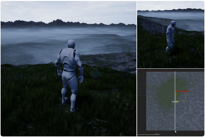 Tiled terrain screenshot