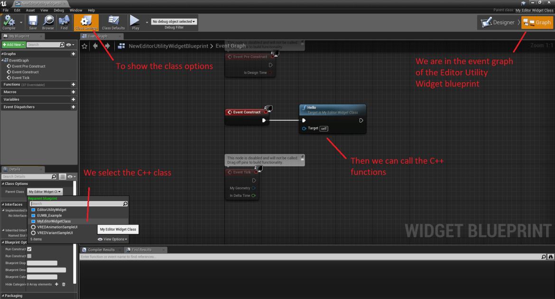 UE4 - C++ Editor Utility Widgets (4 22) - Isara Tech