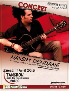 affiche concert tancrou