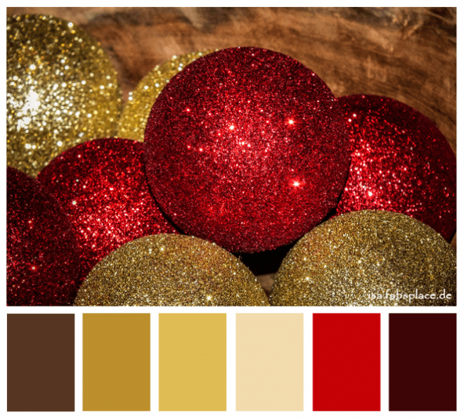 Color Palette Christmas Sparkling
