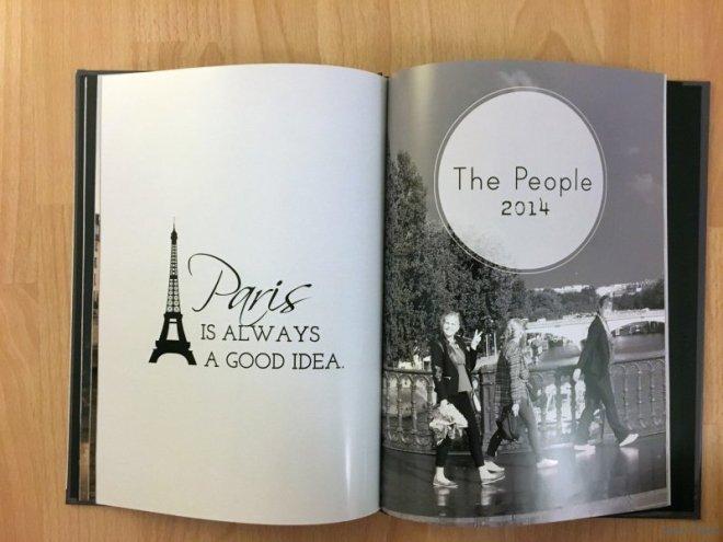 Paris Photo Album People