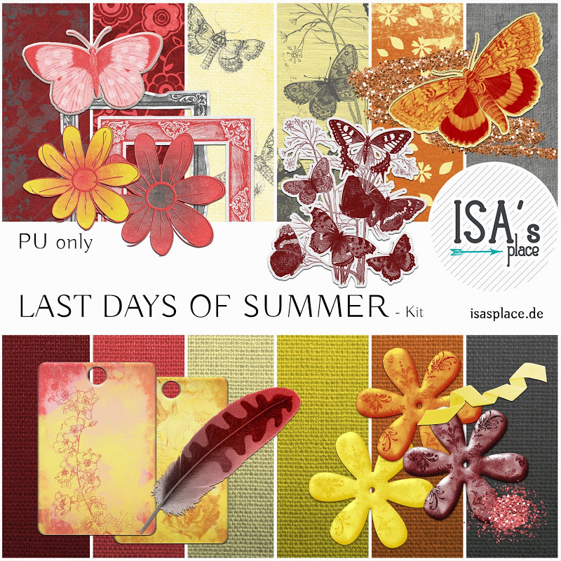 Scrapbooking Kit: Last Days of Summer