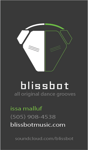 Blissbot Business Card Design