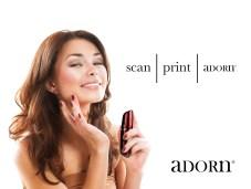 Foundation. Beautiful Woman Applying Make-up