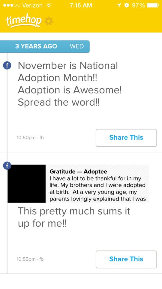 On Adoption: A Seat at the Table (1/2)