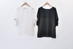 Cocoon silhouette patchwork cut