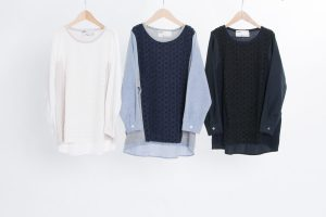 Standard class material changeover pullover