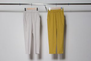 Relaxed tapered pants