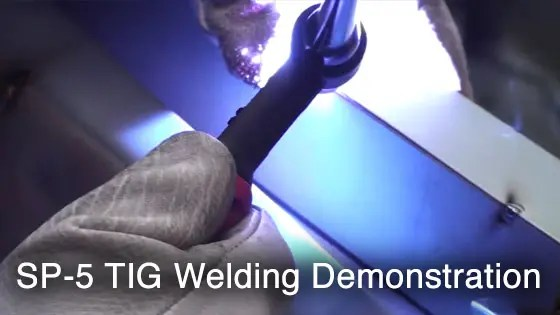 SP-5 TIG Welding Demonstration