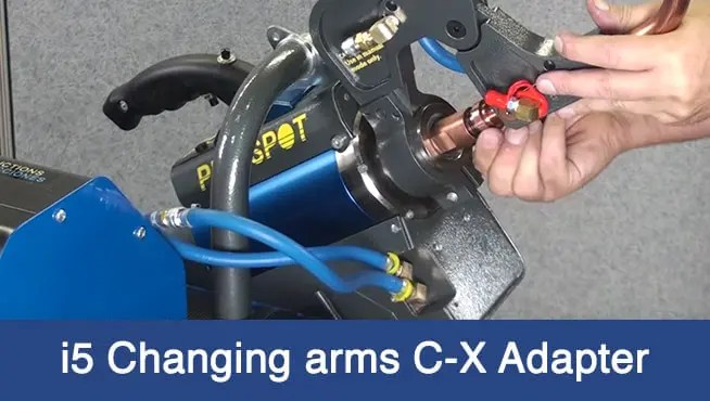 i5 Changing Arms C-X Adapter