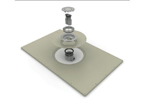 Wetfloor shower trays