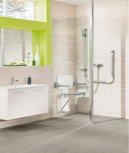 Less able / Disabled walk in shower