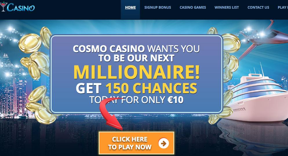 Cosmo Casino Review: Legit or a Scam?   Sister Sites Casinos