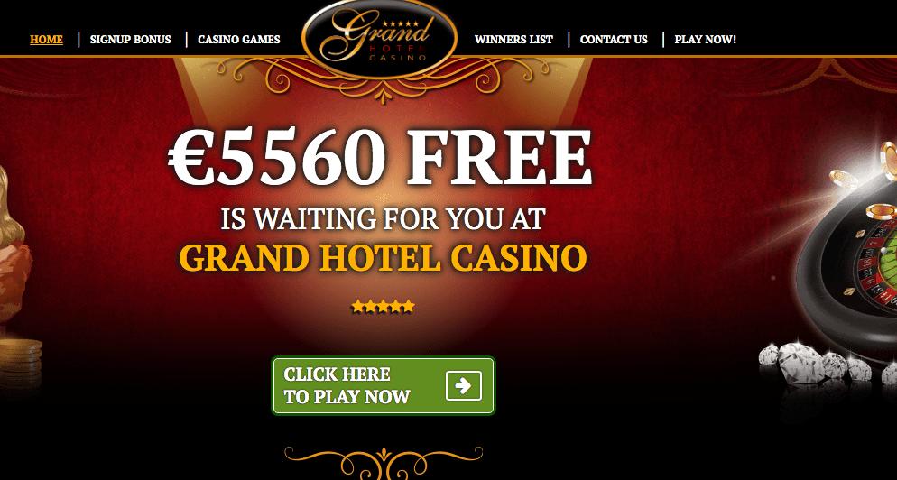 Grand Hotel Casino Review: Legit or Scam?| Sister Sites Casinos