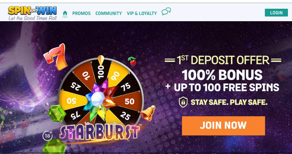 Is Spin and Win Casino Legit or a Scam? – Review   Sister Casinos