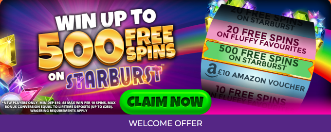 Fever Slots Welcome Bonus