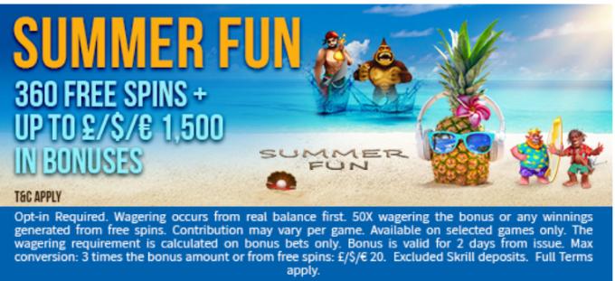 Fruity King Casino Summer Fun