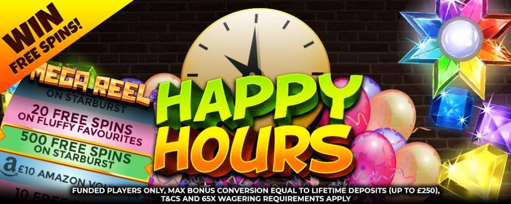 Dove slots Happy Hours