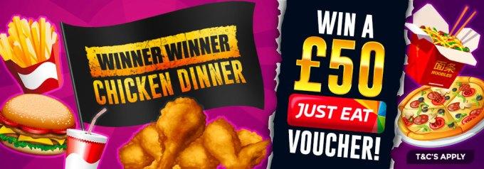Chicken Dinner Winner Promo