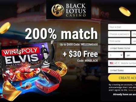 Is Black Lotus Casino Legit or Scam? – Review | Sister Casinos (2020)