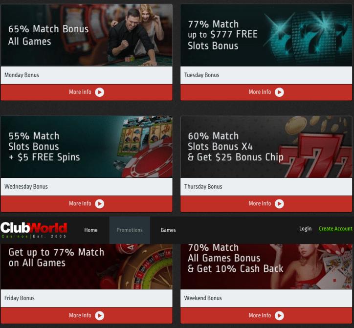 Club-World-Casinos-Daily-Bonus-Promotions
