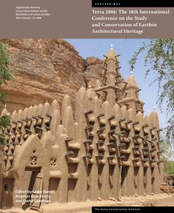 Poster for the Tenth International Conference on the Study and Conservation of Earthen Architectural Heritage (Terra 2008)