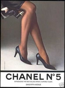Chanel No 5 advert 1985
