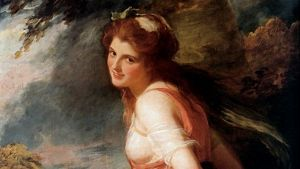 Rumoured fan: Lady Emma Hamilton