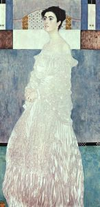 klimt in white