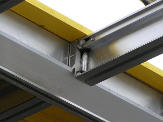 Main and secondary beams