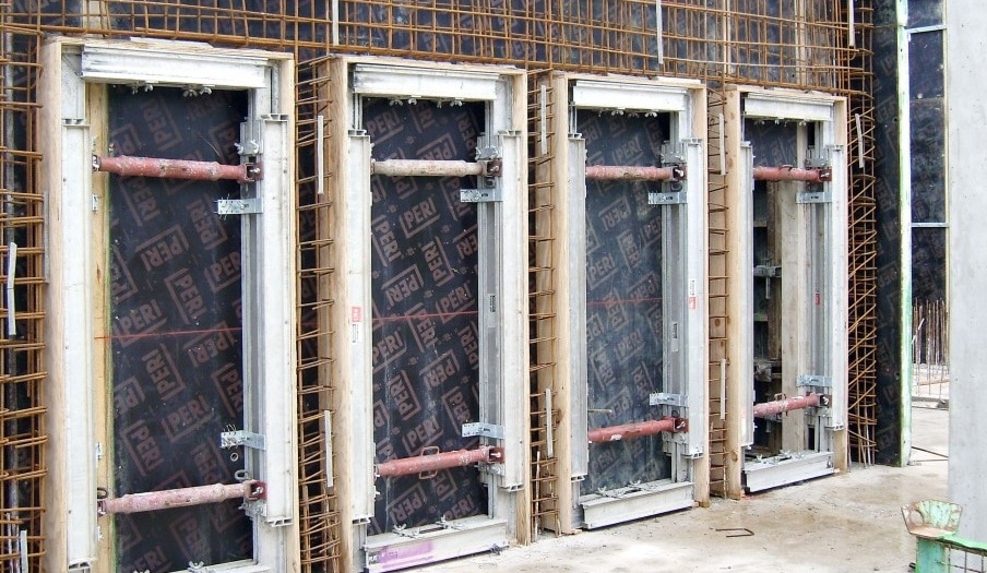 formwork for openings