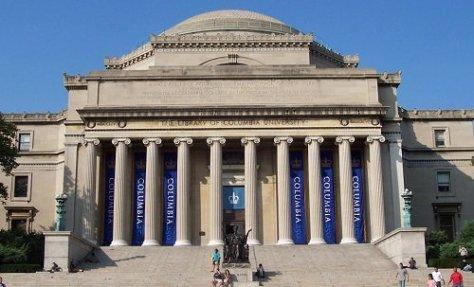 Columbia University campus building
