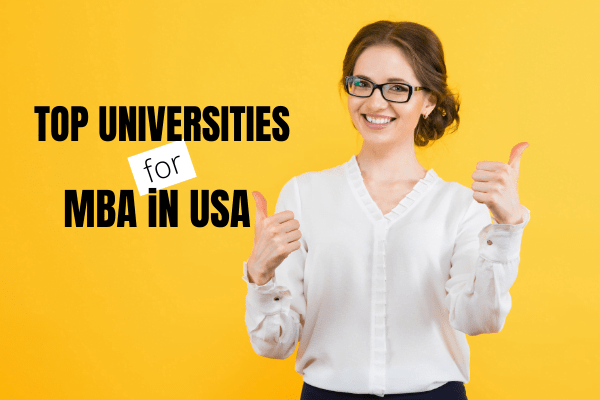Top MBA programs in USA