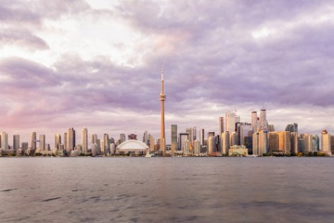 Toronto skyline view for those studying in canada