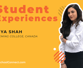Riya Shah Student experiences in Fleming College, Canada