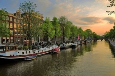 A scenic view of the Netherlands