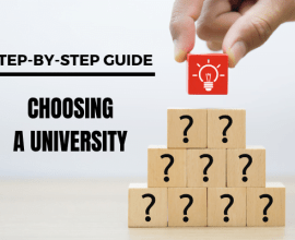 Step-by-step guide choosing a university