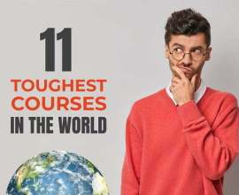 most difficult courses in the world