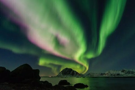 Study in norway with the Nothern lights