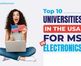 top 10 universities in USA for MS in electronics