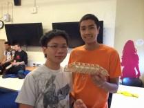 Tien + Ray, max load = 18.4 kgs