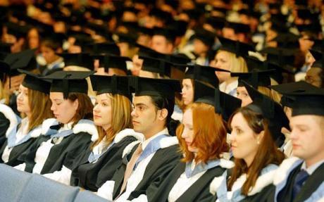 Graduating Imperial students