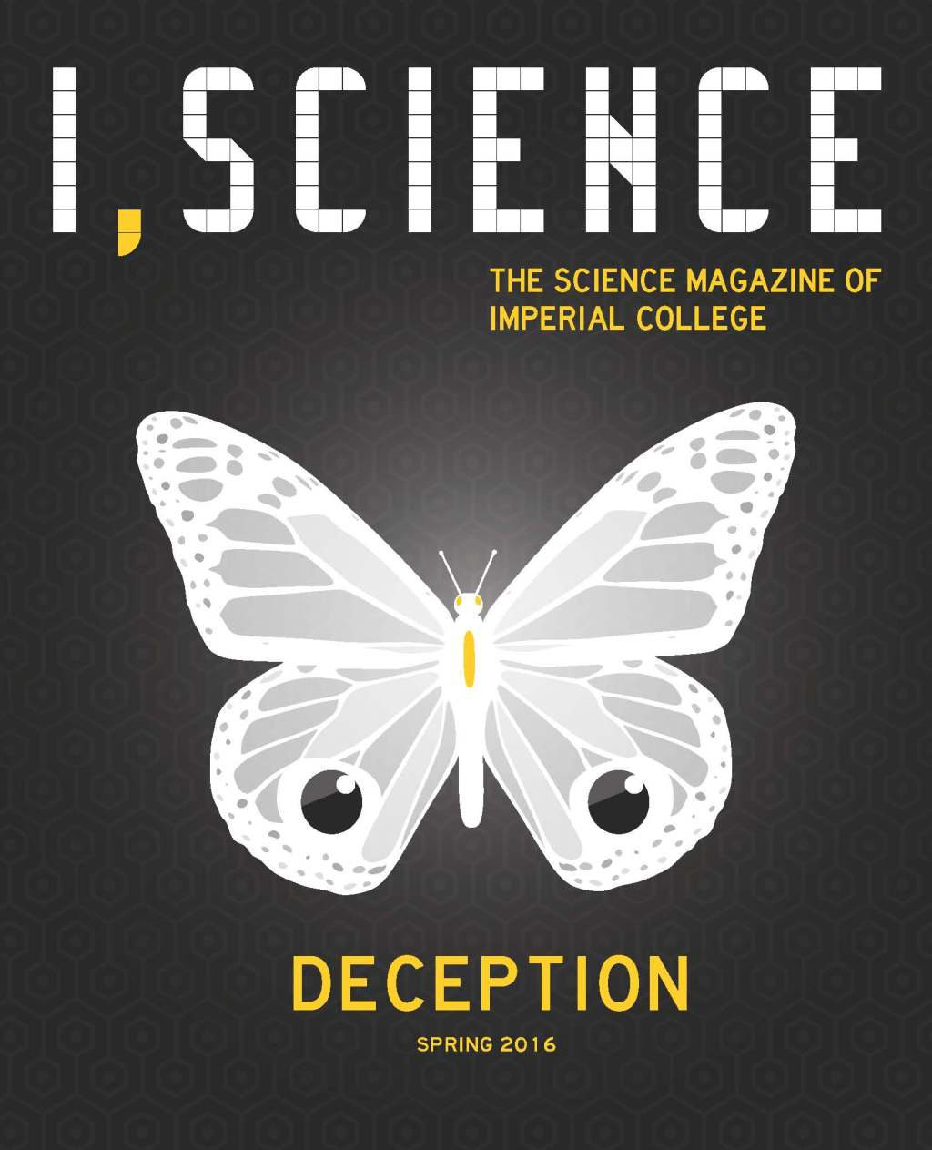 I, Science Magazine Deception Cover Art Issue 33 spring 2016
