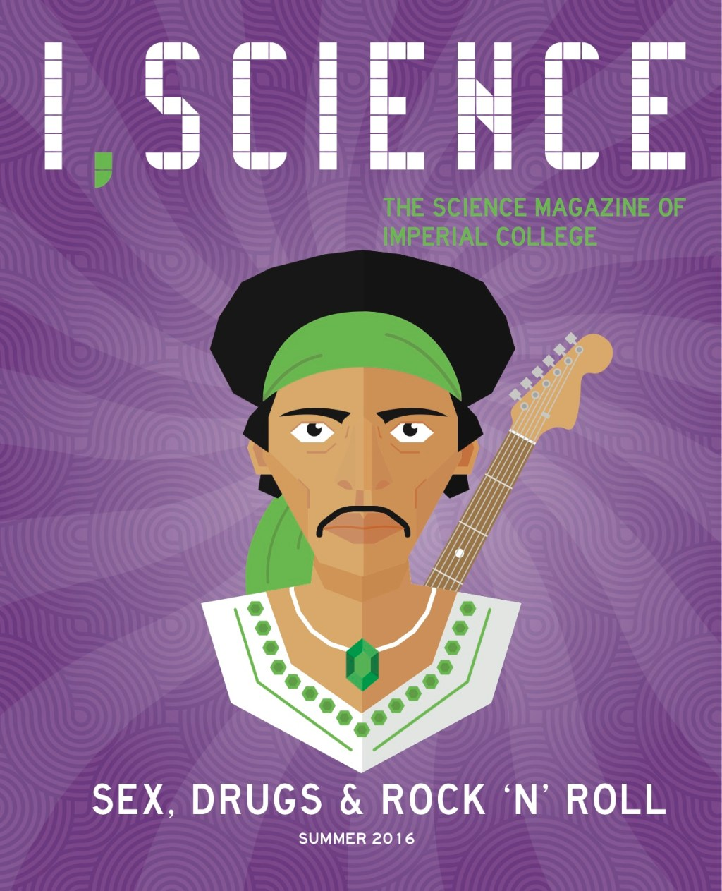 I,Science Magazine Sex, Drugs and Rock and Roll Cover