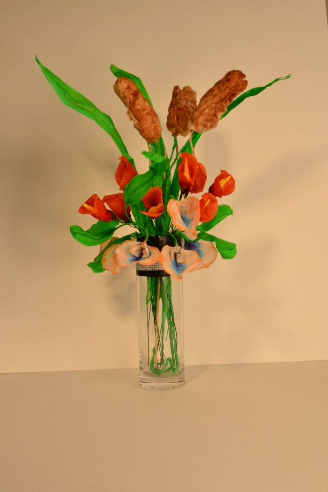 photograph of flower arrangement
