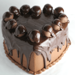 Chocolate Heart Cake Ball Cake with Pourable Ganache Recipe