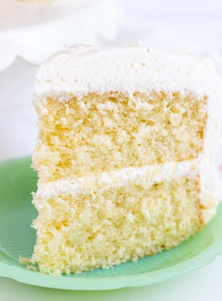 Favorite Vanilla Bean Cake - I Scream for Buttercream