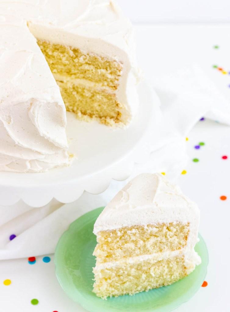 Favorite Vanilla Bean Cake I Scream For Buttercream